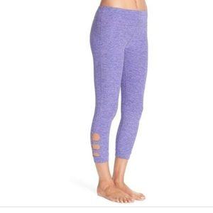 Beyond Yoga Spacedye Circle Cut-Out Capri Legging